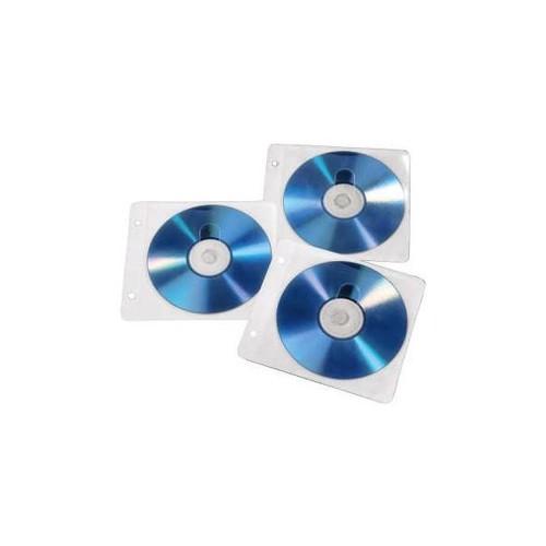 CD Doppel-Hülle 14,3x12,8cm für 2 CDs transparent Hama 00084101 (PACK=50 STÜCK) Produktbild Additional View 2 L