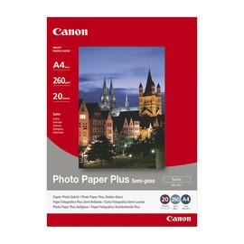 Fotopapier Inkjet SG-201 A4 260g semi glossy Canon 1686B021 (PACK=20 BLATT) Produktbild