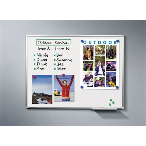 Whiteboard Premium Plus 150x120 cm emailliert Legamaster 7-101073 Produktbild Additional View 2 L