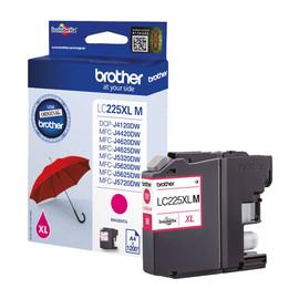 Tintenpatrone für DCP-J4120DW/ MFC-J4420DW 11,8ml magenta Brother LC-225XLM Produktbild