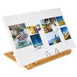 Buchständer 34x26x4,7cm aus Bambus braun Wedo 2113107 Produktbild Additional View 2 S