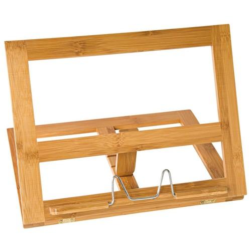 Buchständer 34x26x4,7cm aus Bambus braun Wedo 2113107 Produktbild