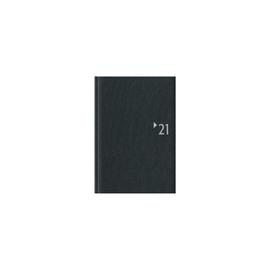Buchkalender 2022 A5 15x21cm 1Tag/1Seite anthrazit Zettler 869-2621 Produktbild