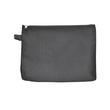 Banktasche mit Reißverschluss A5 190x255mm schwarz Nylon Foldersys 40407-30 Produktbild
