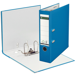 Ordner 1010 A4 80mm hellblau Kunststoff Leitz 1010-50-30 Produktbild