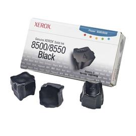 Tintenstix für Tektronix Phaser 8500 3000Seiten schwarz Xerox 108R00668 (PACK=3 STÜCK) Produktbild