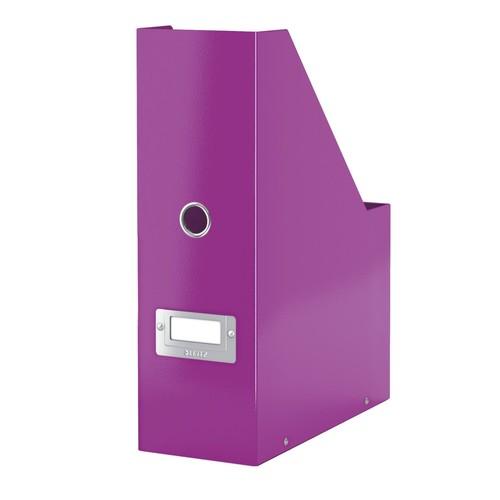 Stehsammler Click&Store 103x330x253mm violett Hartpappe PP Leitz 6047-00-62 Produktbild Additional View 1 L