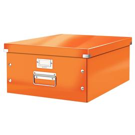 Archivbox WOW Click & Store für A3 369x200x482mm orange metallic Leitz 6045-00-44 Produktbild