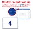 Etiketten Inkjet+Laser+Kopier 105x74mm auf A5 Bögen weiß Zweckform 6133 (PACK=800 STÜCK) Produktbild Additional View 3 S