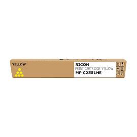 Toner für Aficio MP C2051/C2551 9500 Seiten yellow Ricoh 842062 Produktbild