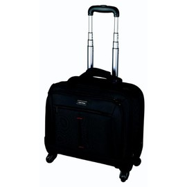 Businesstrolley STAR 41x40x20cm schwarz 1680 D Nylon Lightpak 46116 Produktbild