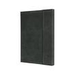 Notizbuch CONCEPTUM Vintage mit Magnetverschluss kariert A5 155x203mm 194 Seiten dark grey Hardcover Produktbild