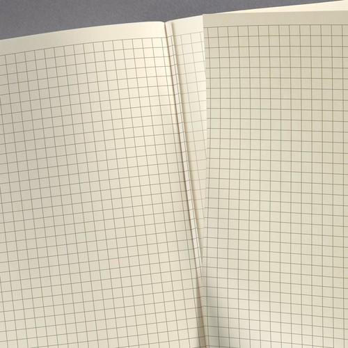Notizbuch CONCEPTUM Vintage mit Magnetverschluss kariert A5 155x203mm 194 Seiten dark grey Hardcover Produktbild Additional View 4 L
