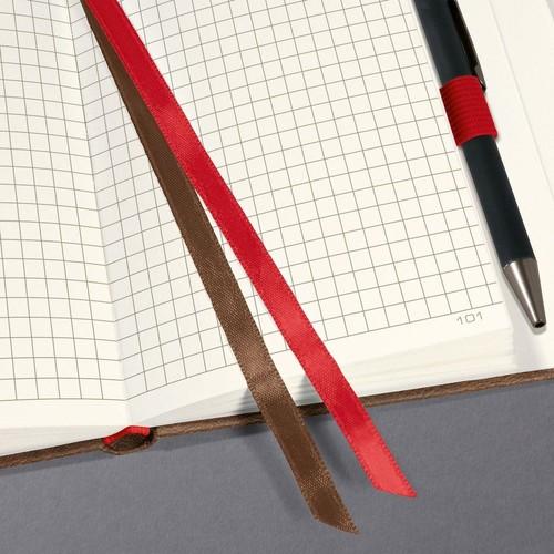Notizbuch CONCEPTUM Vintage mit Magnetverschluss kariert A5 155x203mm 194 Seiten brown Hardcover Produktbild Additional View 2 L