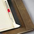 Notizbuch CONCEPTUM Vintage mit Magnetverschluss kariert A5 155x203mm 194 Seiten brown Hardcover Produktbild Additional View 6 S