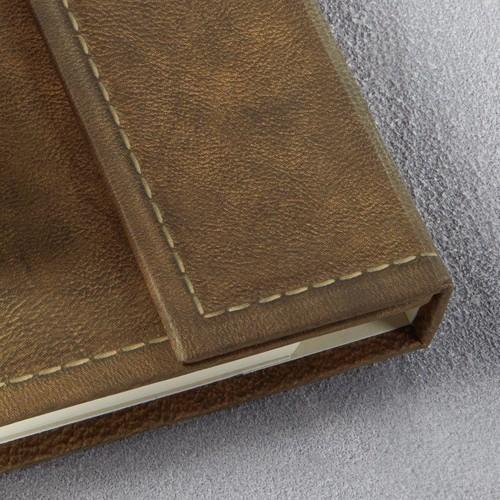 Notizbuch CONCEPTUM Vintage mit Magnetverschluss kariert A5 155x203mm 194 Seiten brown Hardcover Produktbild Additional View 7 L