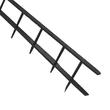 Plastik-Binderücken SureBind bis A4 10-Kämme bis 250Blatt schwarz GBC 1132850 (PACK=100 STÜCK) Produktbild