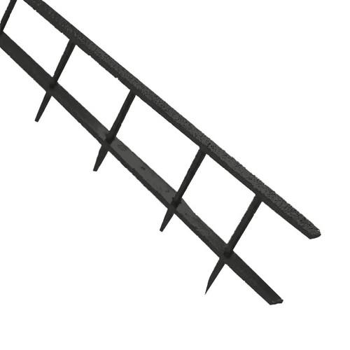 Plastik-Binderücken SureBind bis A4 10-Kämme bis 250Blatt schwarz GBC 1132850 (PACK=100 STÜCK) Produktbild Front View L