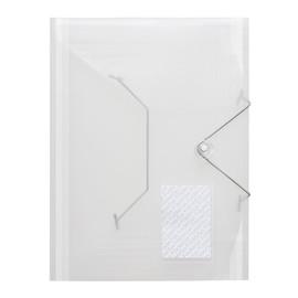 Eckspanner A4 für 500Blatt transparent PP FolderSys 10028-04 Produktbild