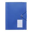 Eckspanner A4 für 500Blatt blau PP FolderSys 10028-40 Produktbild