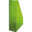 Stehsammler Economy 85x240x322mm grün transparent Kunststoff Helit H2361450 Produktbild