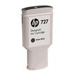Tintenpatrone 727 für HP DesignJet T1500 300ml schwarz matt HP C1Q12A Produktbild