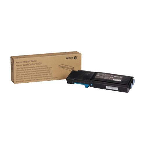 Toner für Phaser 6600/6605 2000Seiten cyan Xerox 106R02245 Produktbild Front View L