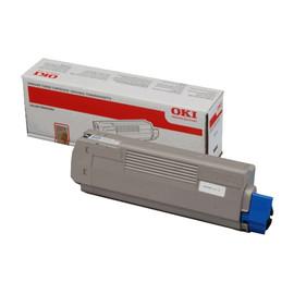 Toner für Oki C610N 8000 Seiten schwarz OKI 44315308 Produktbild