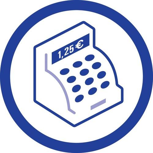 Kassenabrechnung A4 2x40Blatt selbstdurchschreibend Zweckform 1756 Produktbild Default L