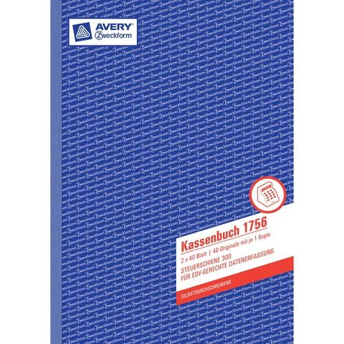 Kassenabrechnung A4 2x40Blatt selbstdurchschreibend Zweckform 1756 Produktbild Additional View 2 L