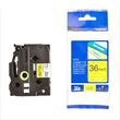 Schriftband laminiert 36mm/8m schwarz auf gelb Brother TZe-661 Produktbild