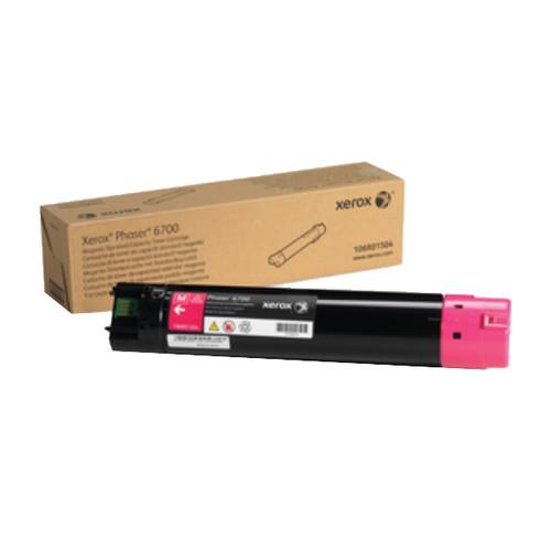 Toner für Phaser 6700 5000Seiten magenta Xerox 106R01504 Produktbild Front View L