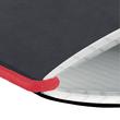 Notizheft flex A6 kariert schwarz 40 Blatt Lederoptik Herlitz 11361847 Produktbild Additional View 2 S