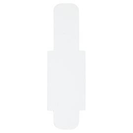 Stecksignal 12x40mm weiß Hartfolie Leitz 6030-00-01 (BTL=50 STÜCK) Produktbild