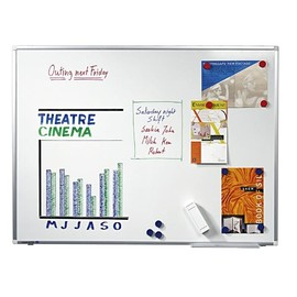 Whiteboard Premium Plus 200x120 cm emailliert Legamaster 7-101075 Produktbild