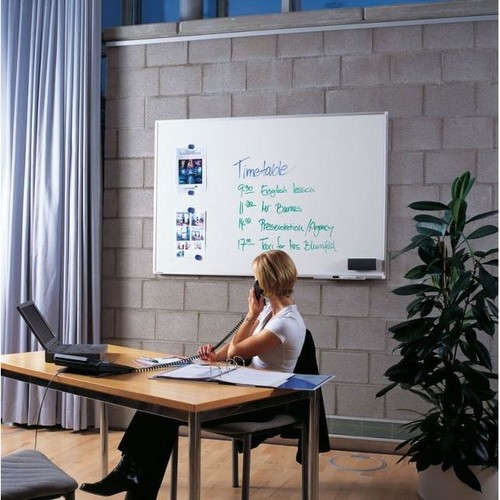 Whiteboard Premium Plus 200x120 cm emailliert Legamaster 7-101075 Produktbild Additional View 4 L