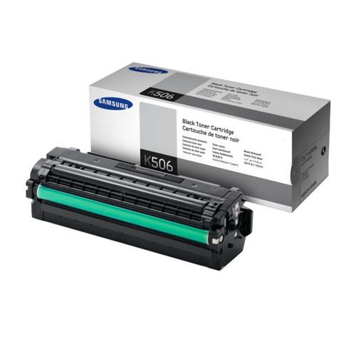 Toner K506S für Samsung CLP-680/CLX-6260 2000 Seiten schwarz SU180A Produktbild Front View L