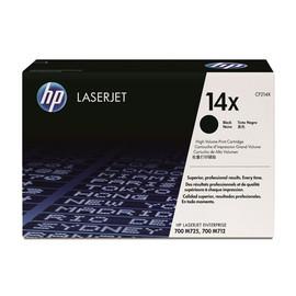 Toner 14X für LaserJet Enterprise M712N/M725DN  17500 Seiten schwarz HP CF214X Produktbild