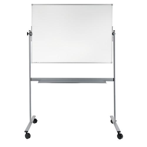 Mobile Stativ-Drehtafel ECONOMY 100x150cm weiß beidseitig lackiert Legamaster 7-103663 Produktbild