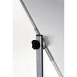 Mobile Stativ-Drehtafel ECONOMY 100x150cm weiß beidseitig lackiert Legamaster 7-103663 Produktbild Additional View 2 S