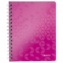 Collegeblock WOW A5 kariert pink metallic Leitz 4641-00-23 Produktbild