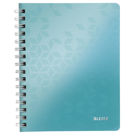 Collegeblock WOW A5 kariert eisblau metallic Leitz 4641-00-51 Produktbild