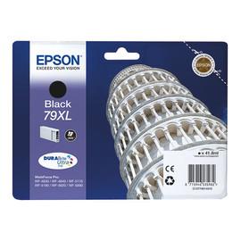 Tintenpatrone 79XL für Epson Stylus WorkForce Pro WF4600 41,8ml schwarz Epson T790140 Produktbild