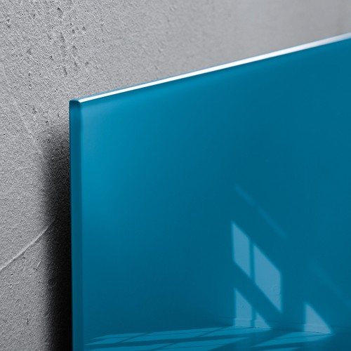 Glas-Magnetboard artverum 120x780x15mm petrolblau inkl. Magnete Sigel GL250 Produktbild Additional View 2 L