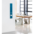 Glas-Magnetboard artverum 120x780x15mm petrolblau inkl. Magnete Sigel GL250 Produktbild Additional View 5 S