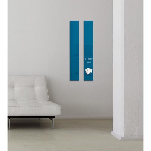 Glas-Magnetboard artverum 120x780x15mm petrolblau inkl. Magnete Sigel GL250 Produktbild Additional View 6 L