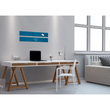 Glas-Magnetboard artverum 120x780x15mm petrolblau inkl. Magnete Sigel GL250 Produktbild Additional View 7 S