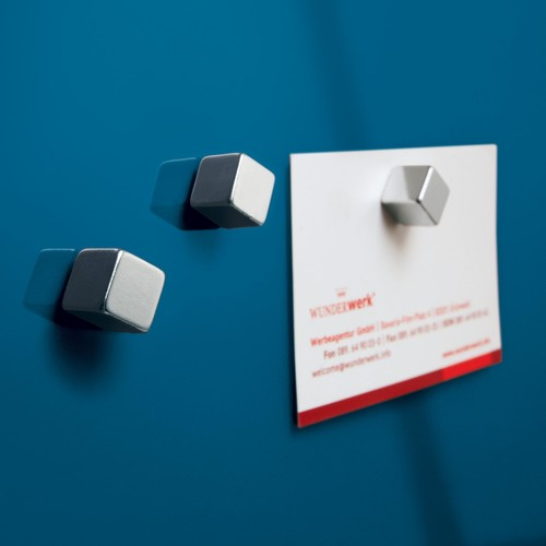 Glas-Magnetboard artverum 120x780x15mm petrolblau inkl. Magnete Sigel GL250 Produktbild Additional View 3 L