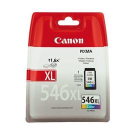 Tintenpatrone CL-546XL für Pixma IP2800 MG2400/2500 13ml farbig Canon 8288B001 Produktbild