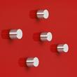 SuperDym-Magnet-Zylinder C5 artverum Zylinder Ø 10x10mm silber vernickelt stark Sigel GL700 (PACK=5 STÜCK) Produktbild Additional View 3 S